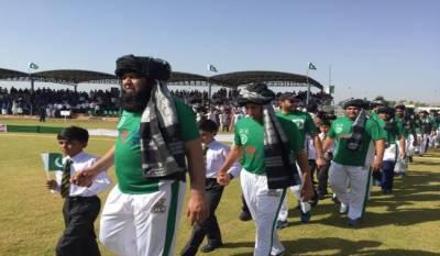 Pakistan XI defeats UK Media XI in Peace Cup match in North Waziristan
