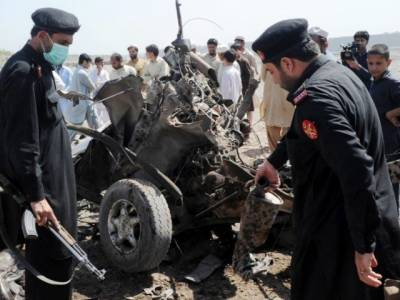 Remote control bomb blast in Khyber Agency