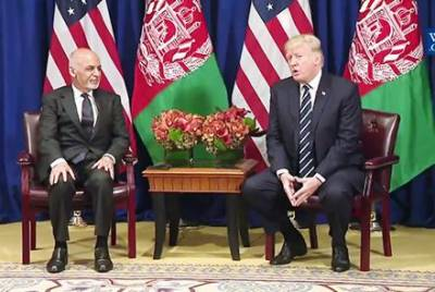 Trump tells Ghani, It's Afghanistan war and only Afghan Forces will fight in combat role