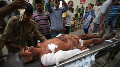 Indian Firing: Six embrace shahadat, 26 suffer injuries