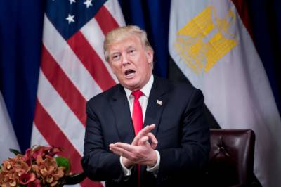 Trump says China central bank ordered bank curbs on N.Korea