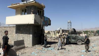 Afghan Taliban kill five policemen in attack on security check post