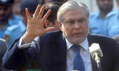 Ishaq Dar to resign and stay back in London