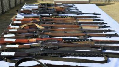 Two terrorists arrested, weapons cache seized by police in Chiniot