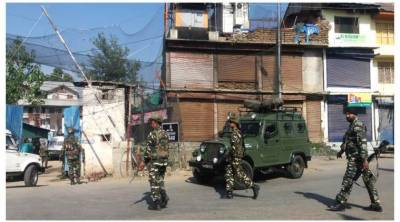 Indian CRPF camp attacked in Occupied Kashmir