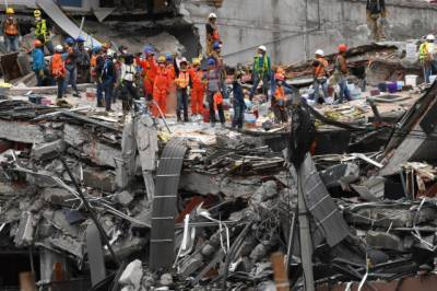Nearly a week on, hopes fade in Mexico City quake rescue operations