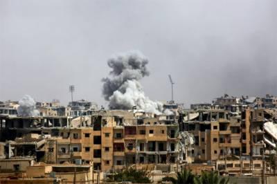 US air strike in Syria kills 84 civilians