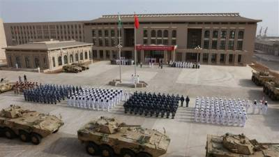 China kicks off first ever military drills on its first overseas base
