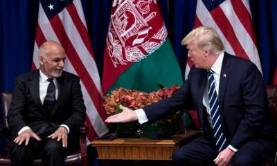 Donald Trump pushes Afghan President for closure of Taliban office in Qatar