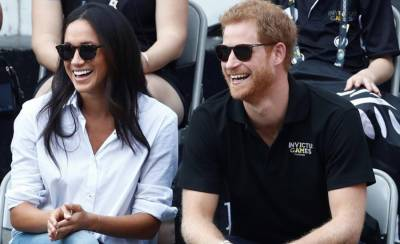 Prince Harry makes first public appearance with his girlfriend Maghan Markle