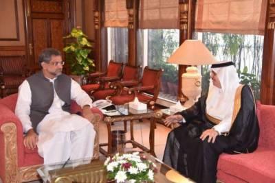 Saudi Arabia desires to enhance bilateral ties with Pakistan: Ambassador