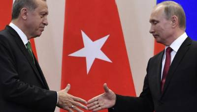 Vladimir Putin meets Tayyip Erdogan over key defence deals