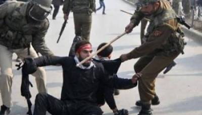 Indian Army use brute force at the Muharram processions in Srinagar
