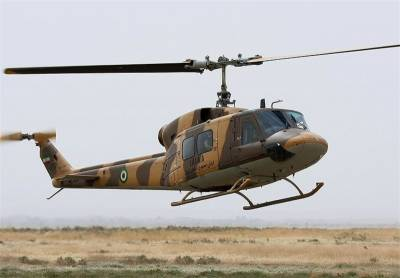 Iranian Army Helicopter crashes in the North