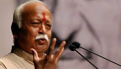 RSS Chief asks Indians to save Cows for its Urine
