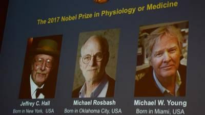 Biological Clock trio wins Nobel Prize