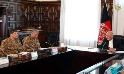 COAS holds one-on-one meeting with Afghan President, discusses issues of common interest