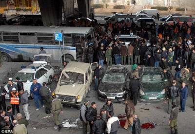 Double suicide bombing plays havoc in Damascus