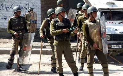 Indian Police convoy attacked with grenades in occupied Kashmir