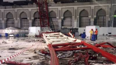 Saudi court announces verdict in Makkah crane crash of 2015