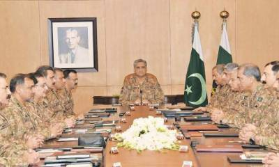 Special Corps Commander Conference summoned by COAS