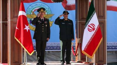 Turkish Army Chief lands in Tehran to discuss joint counter terrorism strategy