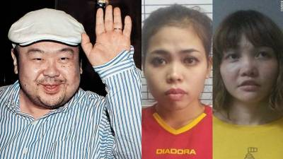 Women plead not guilty to murdering N. Korea leader's half-brother