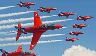 British Red Arrows to perform in Karachi