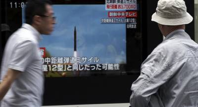 North Korea threatens Japan with the nuclear clouds