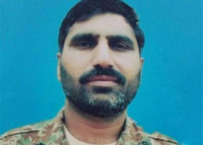 Pakistan Army officer martyred from terrorist fire across Afghanistan border