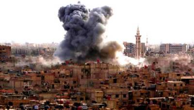 US air strike kills at least 18 civilians in Syria
