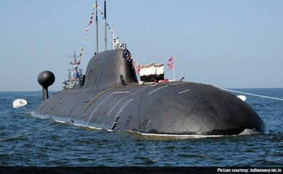 India's only nuclear submarine damaged in a collision