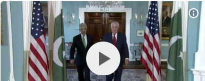 Pakistan FM meets US Secretary of State, leave without a Joint Press Conference