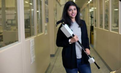 Pakistani student developed a stick to cure Parkinson's disease