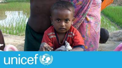 UNICEF APPEALS FOR EMERGENCY RESPONSE TO HELP ROHINGYA REFUGEES CHILDREN