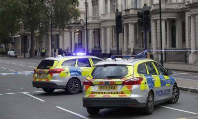 Car struck pedestrians outside National History Museum in London