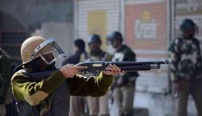 Indian CRPF unleashes new weapon of war in occupied Kashmir