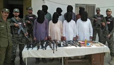 Punjab Rangers arrest 14 militant facilitators across Punjab