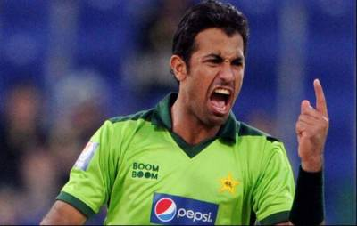 Wahab Riaz makes a new disgruntled world record