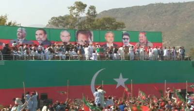 Imran Khan's speech at PTI Buner Jalsa rings alarm bells for political opponents