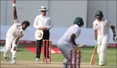 Pakistan cricket team faces follow on in the 2nd test against Sri Lanka