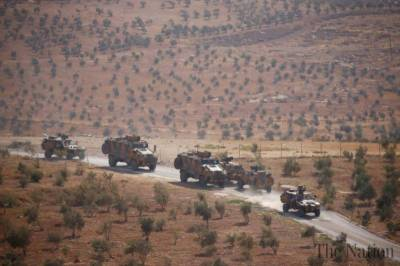 Turkish Military enters Syria for a grand operation