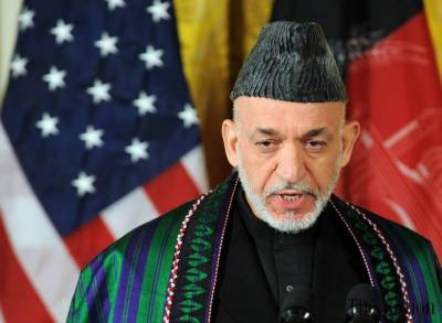 US has links with ISIS, providing weapons to terrorists: Hamid Karzai