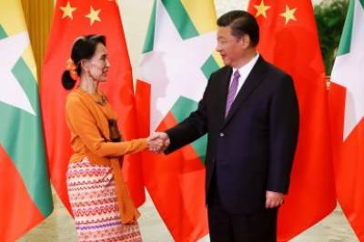 China calls international assistance for Myanmar to fight against terrorism