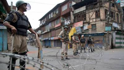Complete shutdown in occupied Kashmir for Indian secret agencies disgruntled acts against women