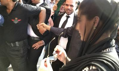 Maryam Nawaz, Captain Safdar appear before Accountability Court