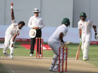 Pakistan batting order crumbles on the fourth day of Test Match