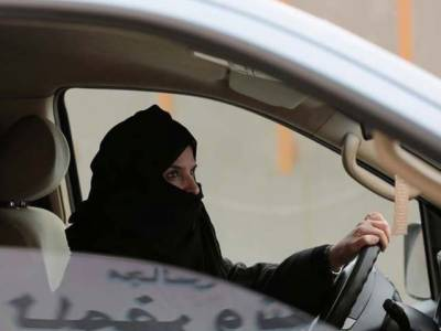 Saudi Arabia Police books woman driving in Kingdom