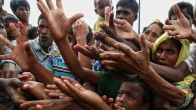Two people died after boat packed with Rohingya Muslims capsized near Bangladesh Coast