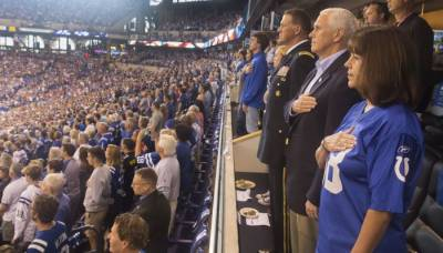US Vice President Mike Pence embarrassed in NFL game